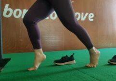 Foto bij blog Blote voeten trainen